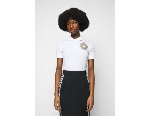 Versace Jeans Couture Poloshirt - optical white/gold/weiß