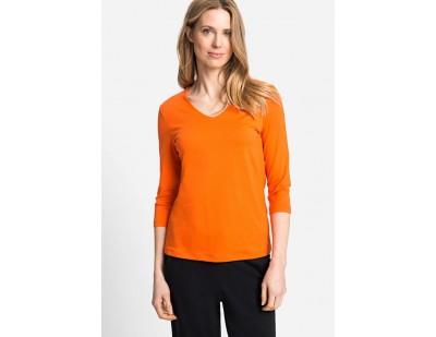 Olsen Langarmshirt - orange-MCYDHQN7