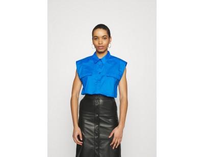 Gestuz DIMMA SHIRT - Hemdbluse - french blue/blau