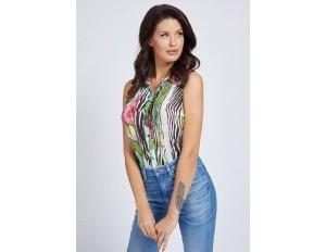 Guess PRINT ALLOVER  - Hemdbluse - gemustert multicolor/mehrfarbig