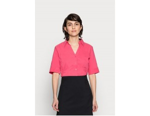 More & More BLOUSE SLEEVE - Hemdbluse - pink berry/pink