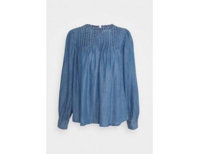 Marks & Spencer London PINTUCK - Bluse - dark blue/dunkelblau