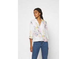 ONLY ONLALMA LIFE VIS - Bluse - cloud dancer/offwhite
