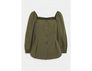 Vero Moda VMKARINA SQUARE - Bluse - ivy green/dunkelgrün