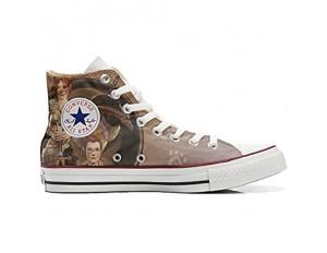 MYS Sneakers Original USA personalisiert Schuhe (Custom Produkt) Warrior Girl - Size EU37
