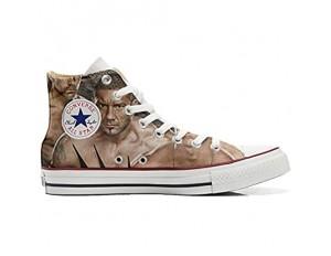 MYS Sneakers Original USA personalisiert Schuhe (Custom Produkt) WWE Wrestling - Size EU40