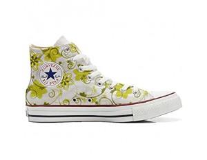 Unbekannt Sneakers American USA - Base personalisierte Schuhe (Custom Produkt) Summer Paisley
