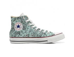 Unbekannt Sneakers Original USA personalisierte Schuhe (Custom Produkt) Elegant Paisley