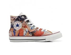 Unbekannt Sneakers Original USA personalisierte Schuhe (Custom Produkt) Japan Cartoon