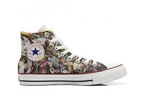 Unbekannt Sneakers Original USA personalisierte Schuhe (Custom Produkt) The Fighters
