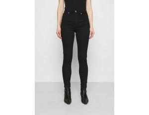 Carin Wester JANE - Jeans Skinny Fit - black/grey/grey denim