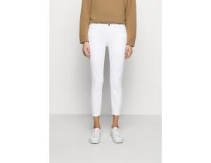 J Brand MID RISE CROP - Jeans Skinny Fit - blanc/white denim