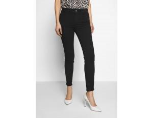 TOM TAILOR ALEXA - Jeans Skinny Fit - black denim/schwarz