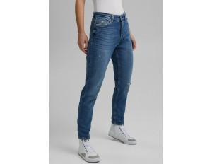 edc by Esprit Jeans Slim Fit - blue medium washed/stone-blue denim