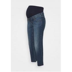 GAP Maternity CHEEKY ATLANTIC - Jeans Slim Fit - dark indigo/dunkelblau
