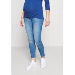 MAMALICIOUS MLLARGO - Jeans Slim Fit - light blue denim/light-blue denim