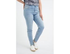 MS Mode Jeans Slim Fit - blue/bleached denim