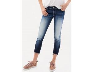 Salsa PUSH UP - Jeans Slim Fit - dark-blue denim