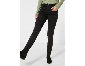 Street One Jeans Slim Fit - schwarz