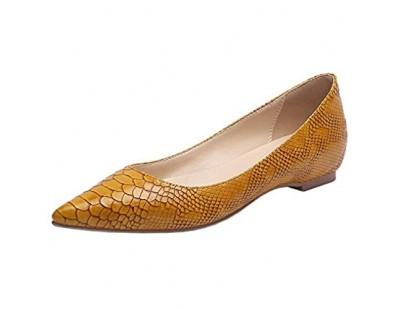 Lydee Mode Damen Schuhe Niedirg Absatz Slip On Post Pumps