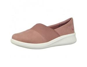 Clarks Sillian 2.0 Moon Loafer flach Pink (Malve Synthetik) 37.5 EU