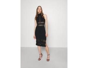 Hervé Léger HERVE LEGER X JULIA RESTOIN ROITFELD HALTER COLUMN DRESS - Cocktailkleid/festliches Kleid - black/schwarz