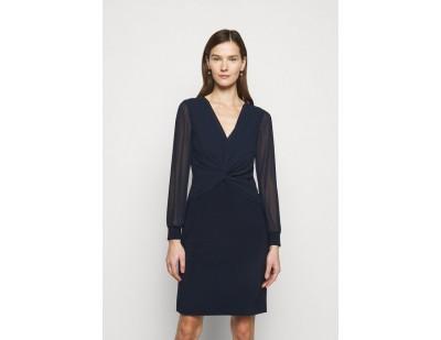 Lauren Ralph Lauren BONDED DRESS COMBO - Cocktailkleid/festliches Kleid - lighthouse navy/dunkelblau