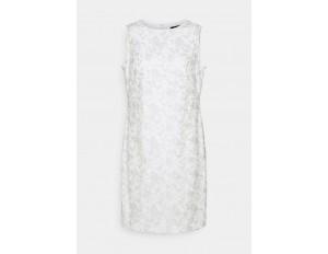 Lauren Ralph Lauren MELLIE SLEEVELESS EVENING DRESS - Cocktailkleid/festliches Kleid - white/silver/weiß