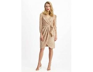 Lavard Cocktailkleid/festliches Kleid - beige