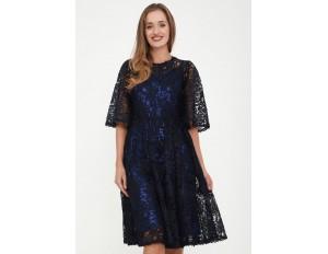 Madam-T Cocktailkleid/festliches Kleid - blau