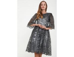 Madam-T SNEZANA - Cocktailkleid/festliches Kleid - grau