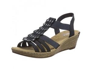 Rieker Damen 62436 Geschlossene Sandalen