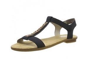 Rieker Damen 65172-14 Geschlossene Sandalen