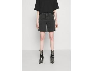 Dr.Denim MEJA - Jeans Shorts - retro black/black denim