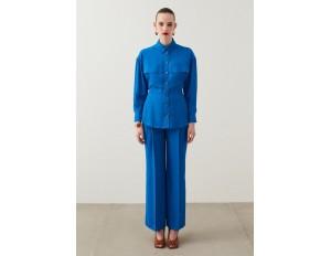 IPEKYOL Stoffhose - blue/blau