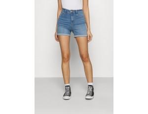 Gina Tricot Jeans Shorts - mid blue/blue denim