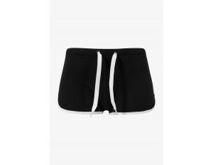 Urban Classics Shorts - black/white/schwarz