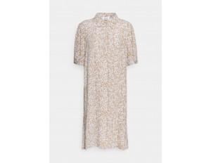 Modström ISA PRINT DRESS - Blusenkleid - beige