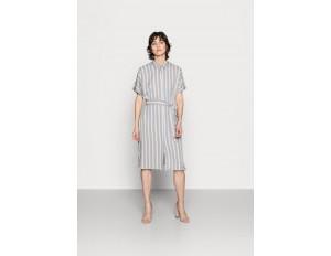 More & More DRESS SHORT - Blusenkleid - new grey/grau