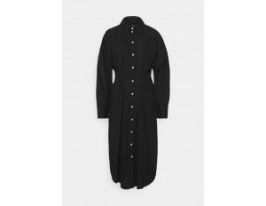 Vero Moda Tall VMCHARLOTTE SHIRT DRESS - Blusenkleid - black/schwarz
