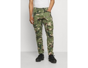 G-Star ROVIC ZIP 3D STRAIGHT TAPERED - Cargohose - olive/oliv