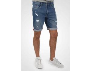 Blend AVER - Jeans Shorts - denim lightblue/light-blue denim