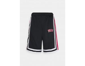 FUBU COLLEGE - Shorts - black/schwarz