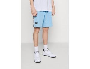 Nike Sportswear REPEAT  - Shorts - psychic blue/white/black/hellblau