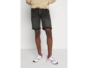 Redefined Rebel COPENHAGEN - Jeans Shorts - black rock/schwarz
