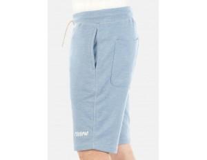 Riverso RIVMIKE - Shorts - blue melange/hellblau-meliert