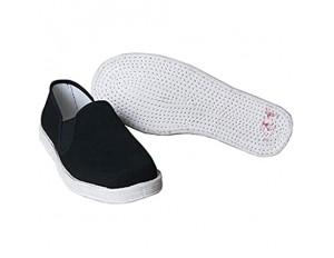 Xu-shoes Männer Schwarze Stoffschuhe Kung Fu Schuhe - Komfortabler Herrenhausschuhe Kampfsport beiläufige chinesische Traditionen Tai Chi Schuhe (Color : Black Size : M EUR 44)