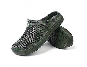 Men's Garden Clogs Slippers Swim Pool Beach Slip On Mules Sports Sandals Shoes