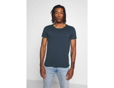 Blend SLIM - T-Shirt basic - denim blue/blau
