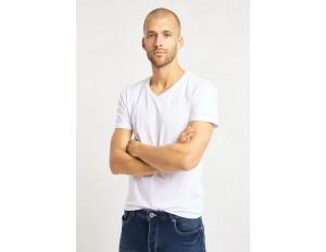 Bruno Banani 2 PACK - T-Shirt basic - weiß